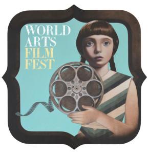 World Arts Film Festival logo by artist Sean Mahan