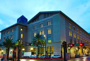 Jacksonville Public Library-Conference Center Main St. entrance